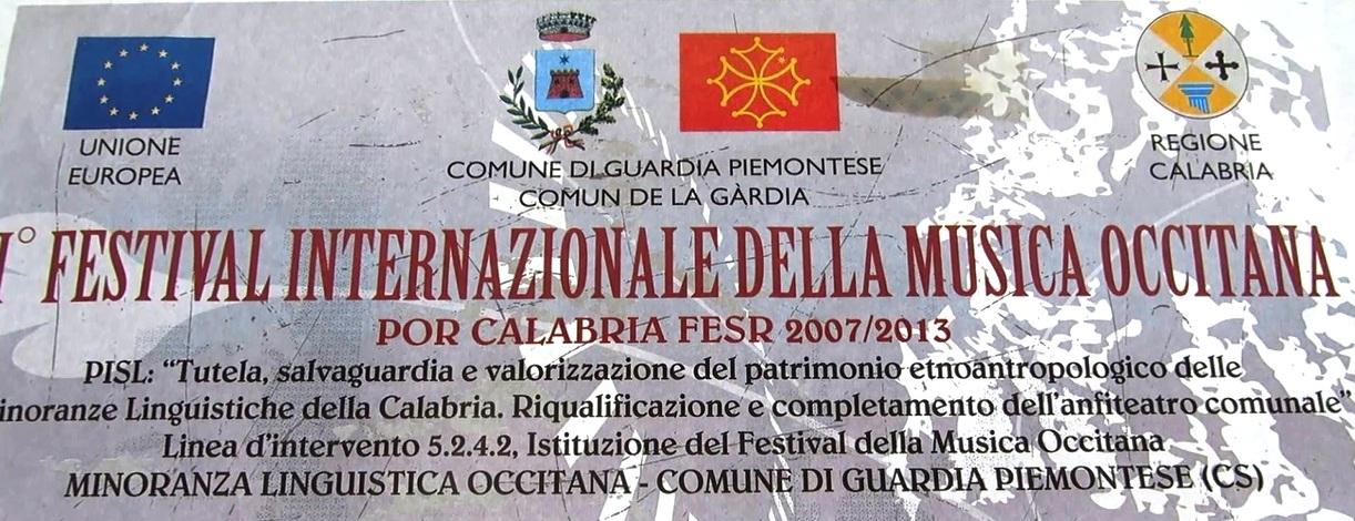 1° Festival Internazionale della Musica Occitana