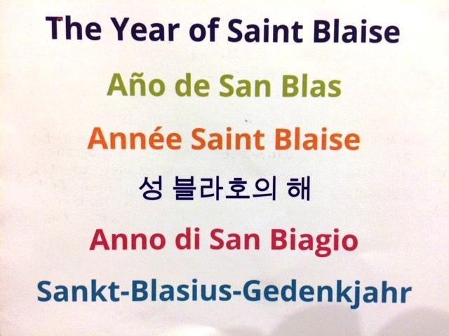 Anno di San Biagio